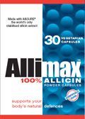 allimax, allicin, allimed, garlic
