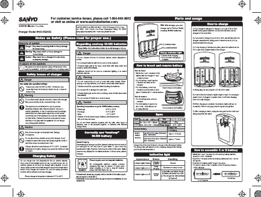 Vector battery charger recondition instructions fact for Vector canape user manual