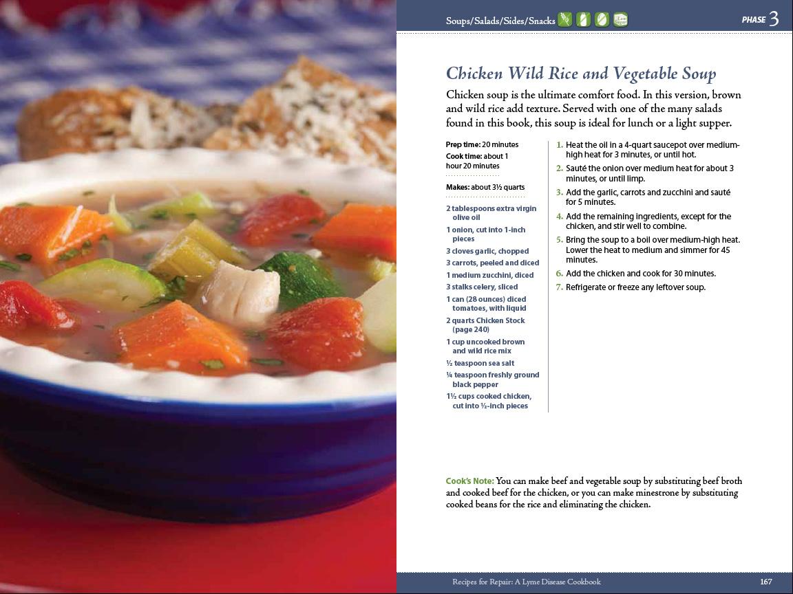 recipes for repair lyme disease cookbook by gail u0026 laura piazza