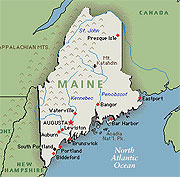 Lyme incidence in Maine